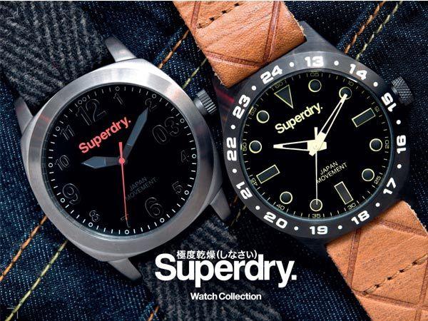 ΝΕΑ ρολόγια SUPERDRY!!!! Δείτε όλη τη ΝΕΑ συλλογή ρολογιών  SUPERDRY μόνο στο OROLOI.GR! http://www.oroloi.gr/index.php?cPath=643