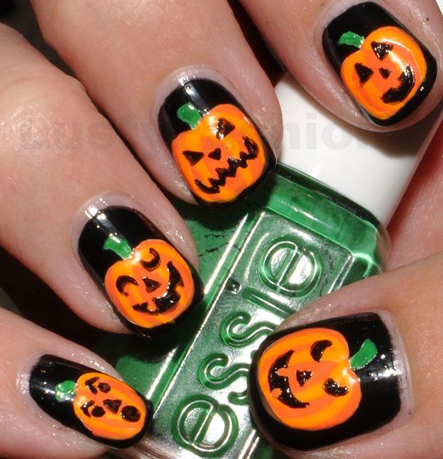 The 25 best pumpkin nail art ideas on pinterest halloween nail halloween nail art google search prinsesfo Image collections