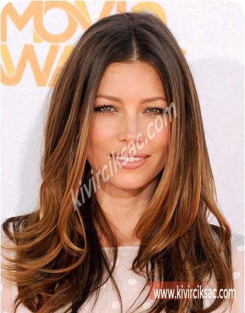 Krepe Balyaj Modelleri Saç Modelleri Long Hair Styles Hair