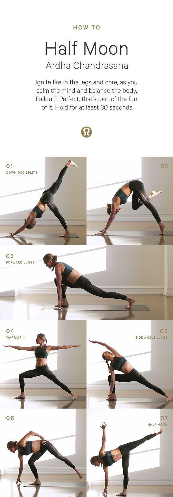 Half moon yoga set #yogaset