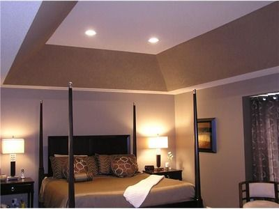 37 best tray ceiling images on pinterest bedroom ideas for Bedroom tray ceiling paint ideas