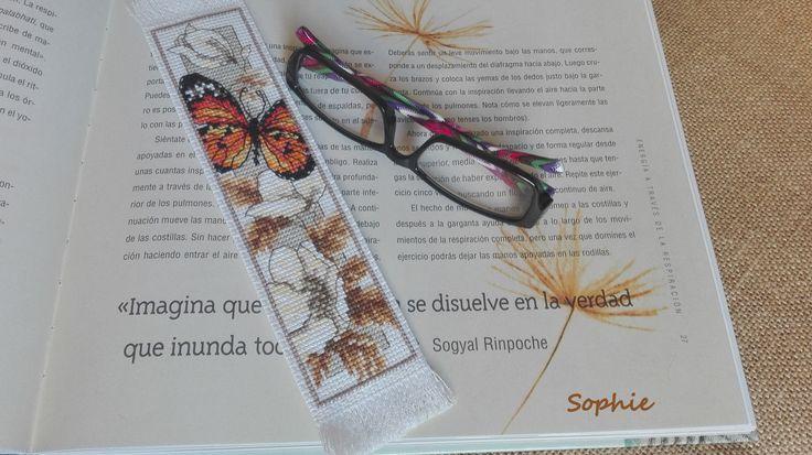 Marcapáginas Vervaco Mariposa