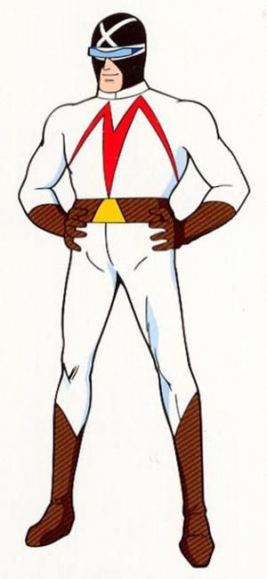 "Racer X of ""Speed Racer"""
