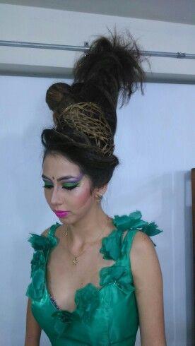 Peinado pasarella