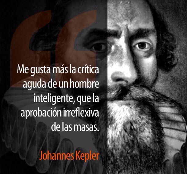 Johannes Kepler...