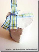 Decorazioni di San Valentino: #scatoline a forma di #cuore fai-da-te