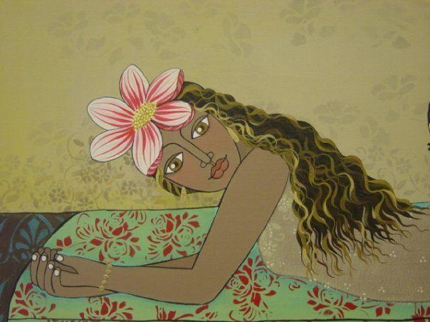 Chilean painter Maria Luisa Vidaurre