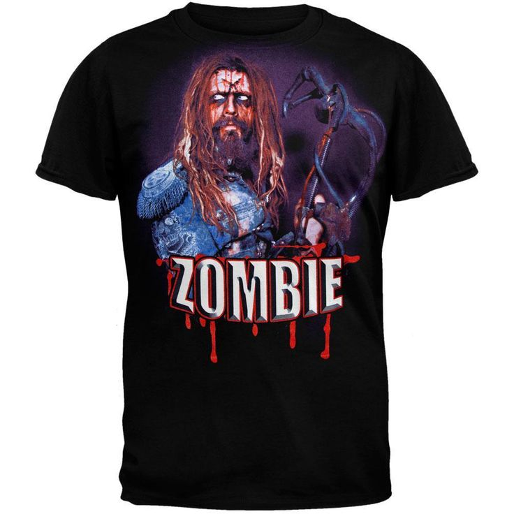 Rob Zombie - X Head 2010 Tour T-Shirt