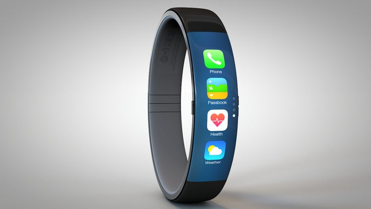 Concept combines Pebble and Fitbit into an iWatch fantasy