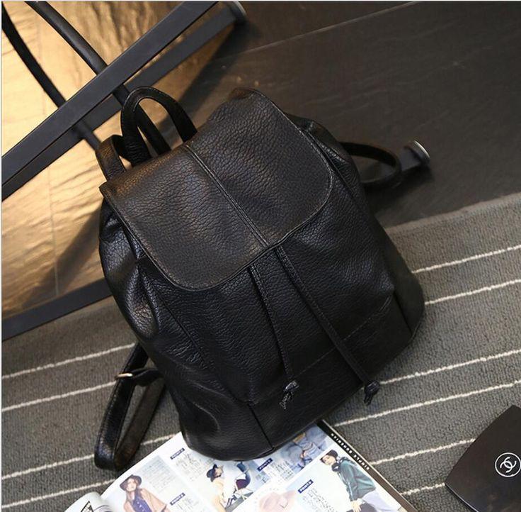 $10.00 (Buy here: https://alitems.com/g/1e8d114494ebda23ff8b16525dc3e8/?i=5&ulp=https%3A%2F%2Fwww.aliexpress.com%2Fitem%2F2017-New-Fashion-Leather-Drawstring-Satchel-Shoulder-Backpack-Newest-Vintage-Rucksack-Soft-PU-Leather-Bags-Travel%2F32794581025.html ) 2017 New Fashion Leather Drawstring Satchel Shoulder Backpack Newest Vintage Rucksack Soft PU Leather Bags Travel School for just $10.00