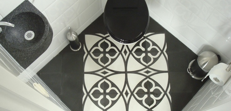 1000 images about tegels on pinterest toilets belle and mosaics - Deco toilet grijs ...