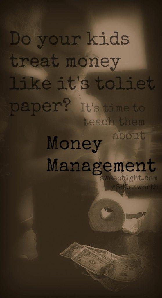 Money Management for kids #SHGenworth #sponsored