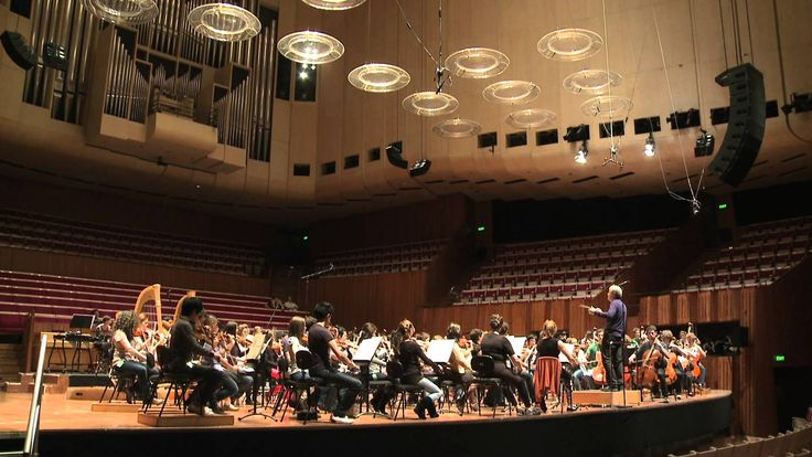 The Australian Youth Orchestra at Sydney Opera House.