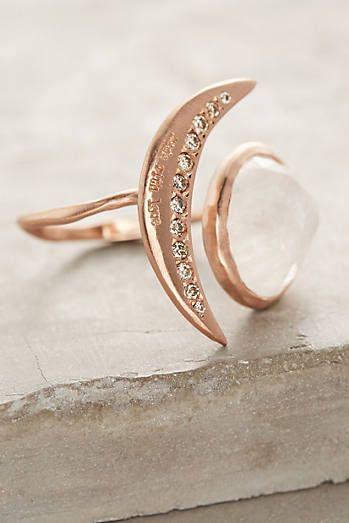 Luna Engraved Ring