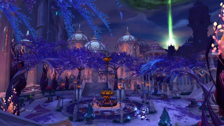 nightborne how to get to nighthold