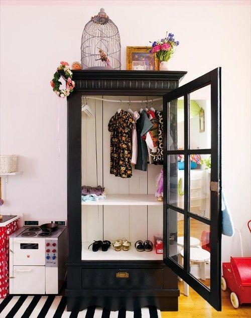 Baby girls closet. :)