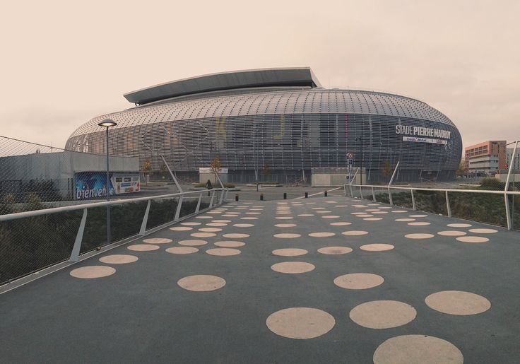 Stade Pierre Mauroy, in Lille, France