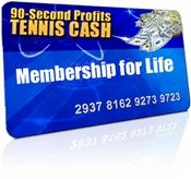 90 second tennis cash system