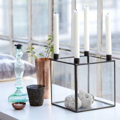 Kerzenhalter für 4 Stabkerzen 20x20cm