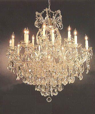 prettiest chandelier yet! ♥