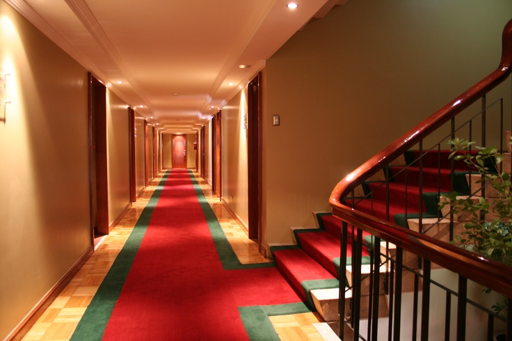 Pasillo de Hotel San Martín #HsmChile #Turismo #Chile #VinadelMar