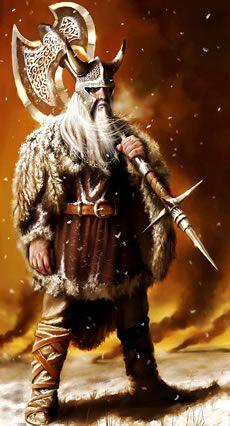 ~J  Viking warrior...I'm not playing ...!