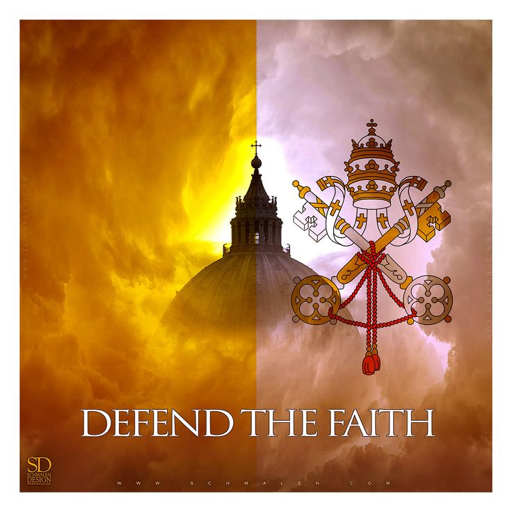 www.Schmalen.com Defend the Faith.