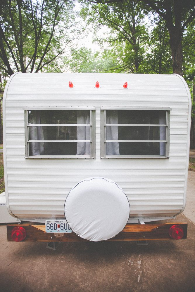 Our restored/rebuilt 1967 Trailblazer vintage camper