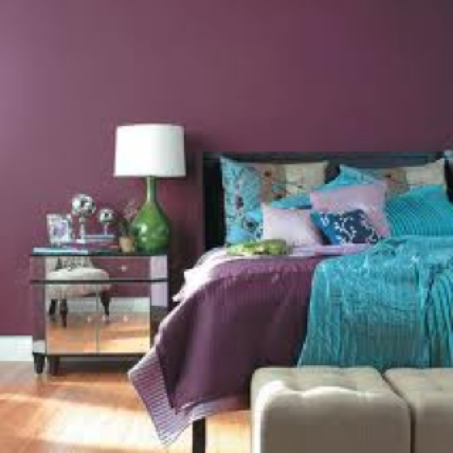 Best Of Blue Purple Wall Paint