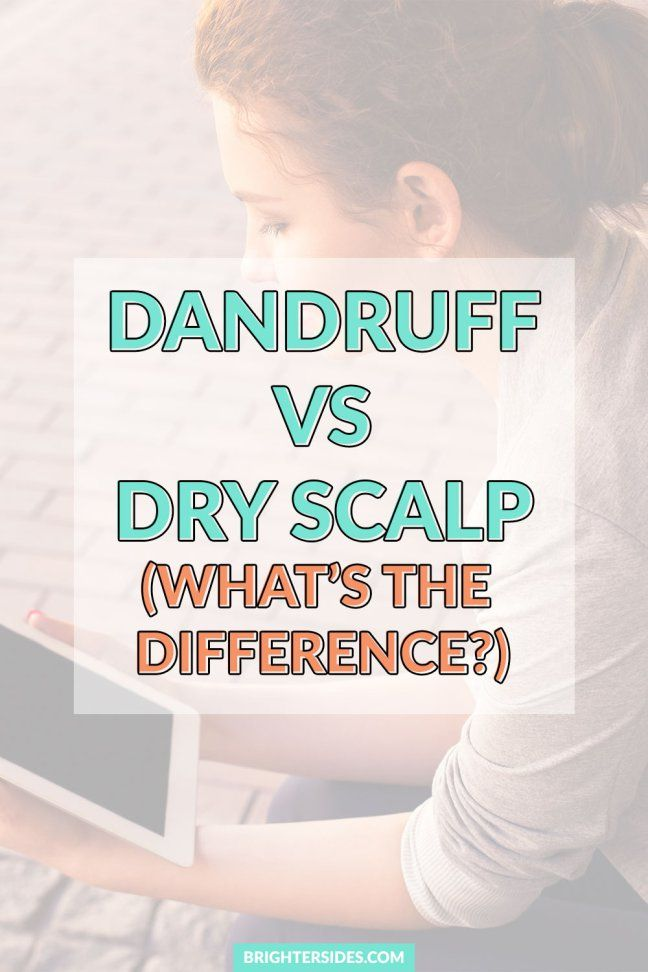 Dandruff vs Dry Scalp. Seeing white flakes in your hair? Do you have dandruff or dry scalp? Find out the symptoms and differences, and a professional hairstylist's suggestions on how to treat both.