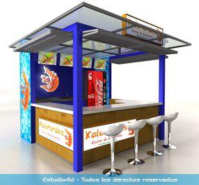 Islas para centro comercial modulos comerciales for Construccion de modulos comerciales