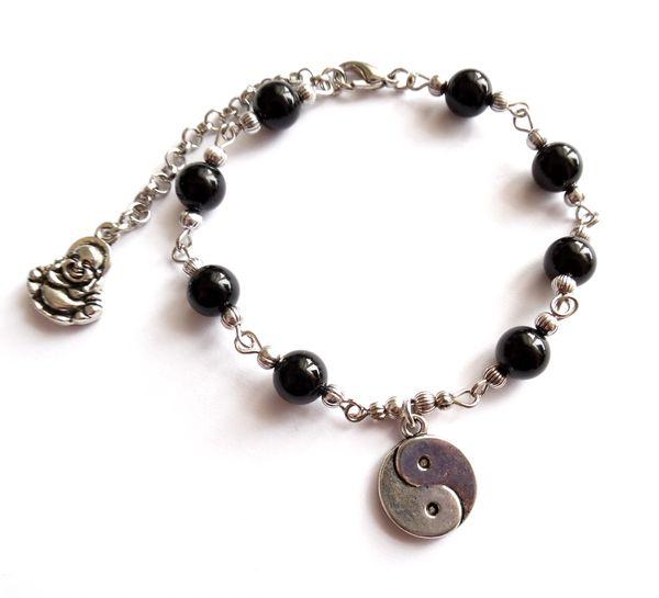 Armband med onyx