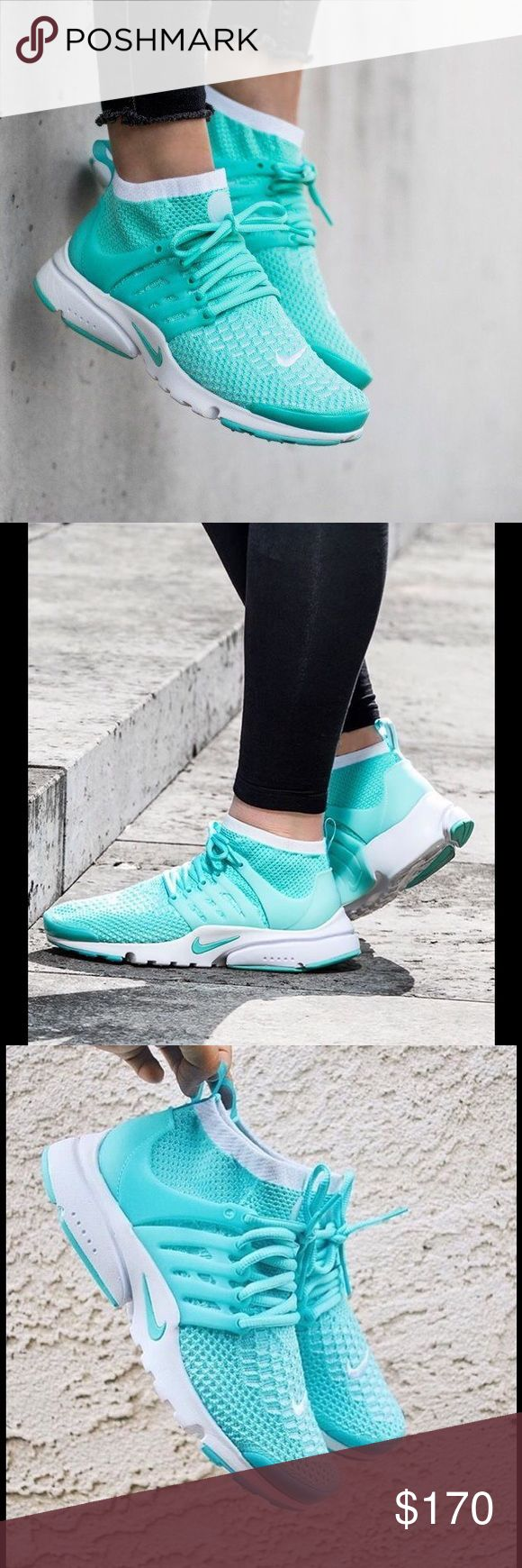 Home nike wmns air presto flyknit ultra midnight turquoise olive - Air Presto Flyknit Ultra Brand New Presto Flyknit Ultra Sneakers Never Worn Shoes Comes