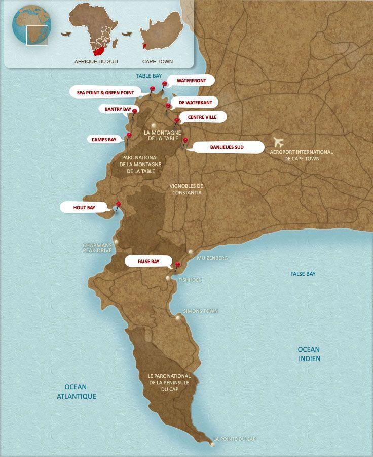 Super Plus de 25 idées uniques dans la catégorie Carte afrique du sud  WB17