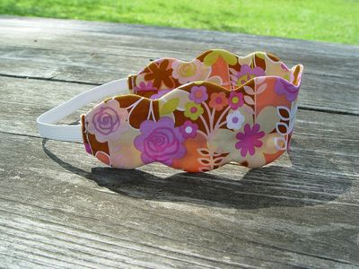 Scalloped Headband « Sew,Mama,Sew! Blog