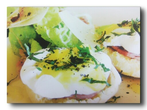 Egg Benedict's@ PJ's Resto Four Seasons Bali at Jimbaran Bay