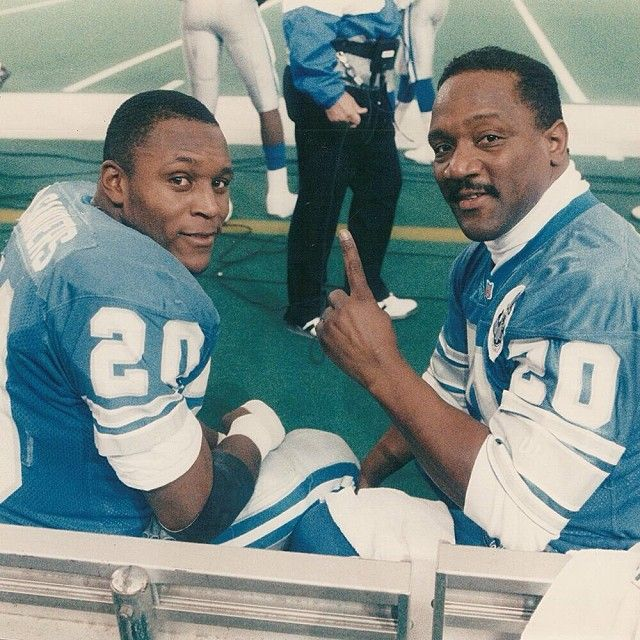Barry Sanders and Billy Sims! Lions could really use a great #20 at RB right now!