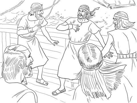 15 best Jonah Bible Cartoons images on Pinterest