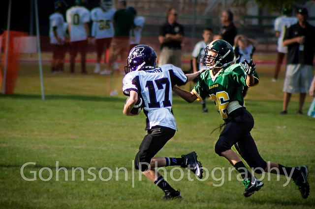 Zach going for the tackle by georgechristopherjohnson, via Flickr