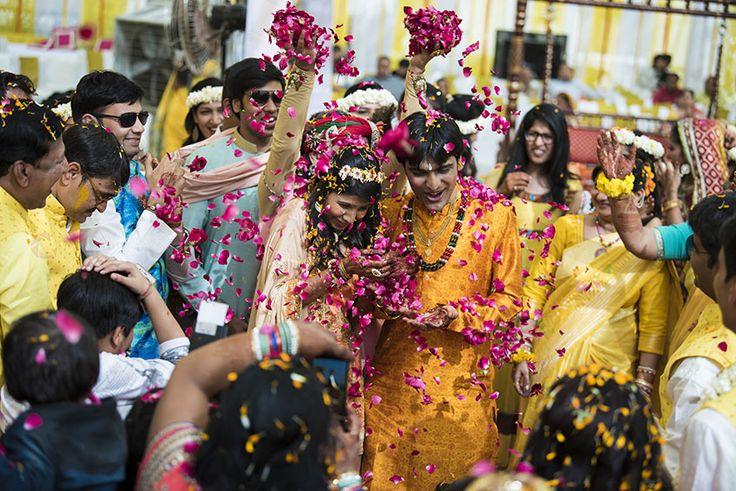 Talking about candid wedding photography. Photo of Gulzar Sethi