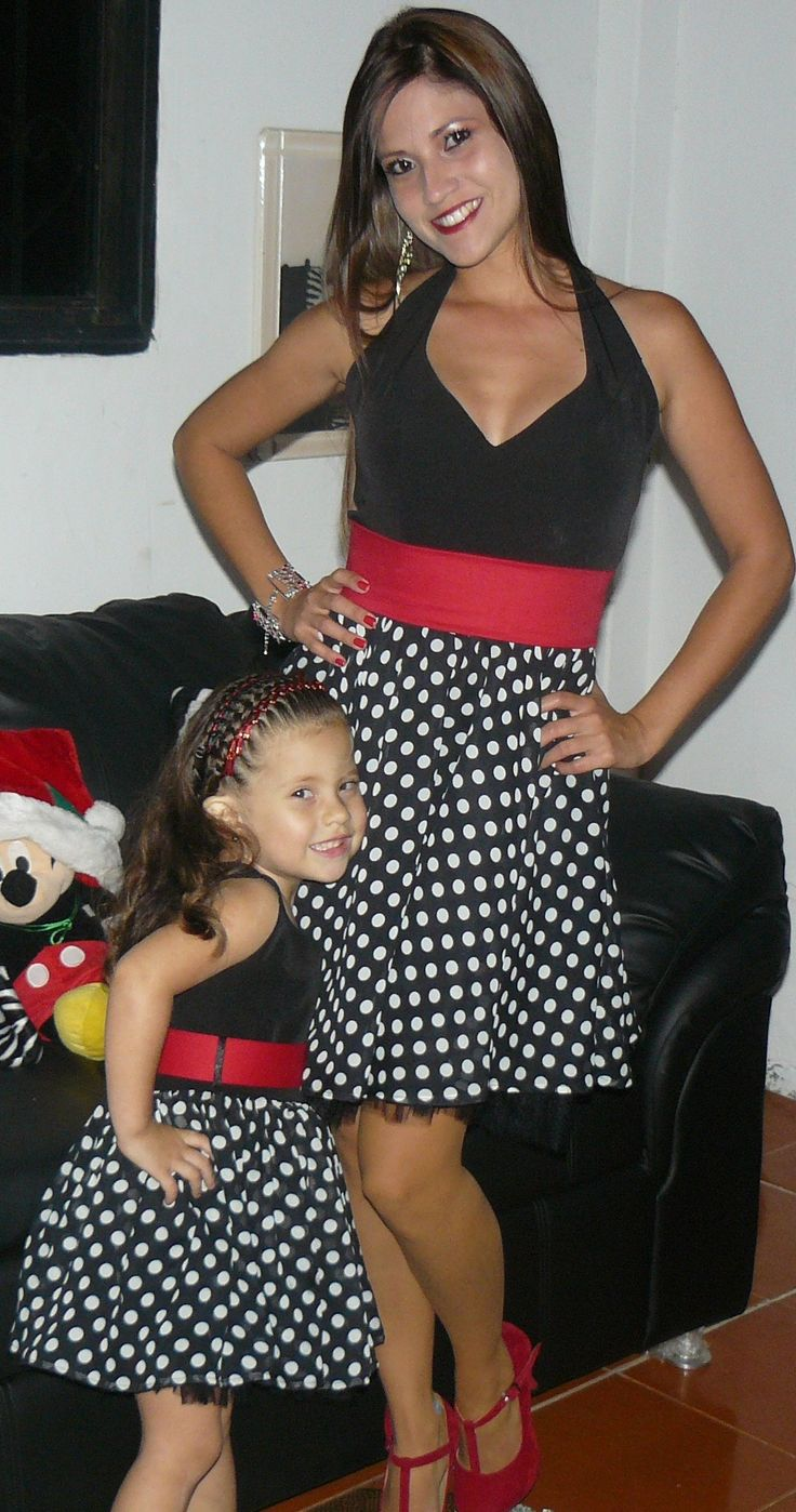 Mommy daughter outfit Moda madre e hija