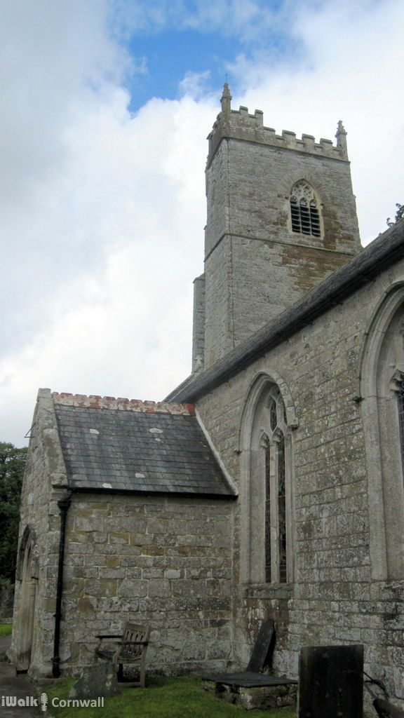 Church of St James the Great, St Kew, Cornwall