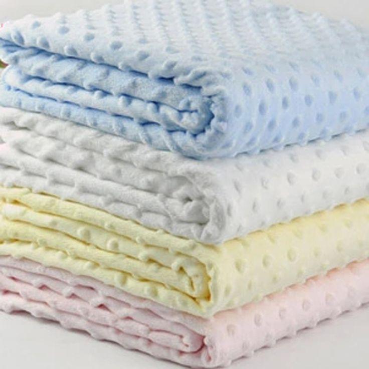 Coral Fleece Newborn Baby Receiving Blanket Swaddle Wrap  Baby Nap Receiving Blanket Manta Bebe Cobertor Bebe Minky dots Swaddle