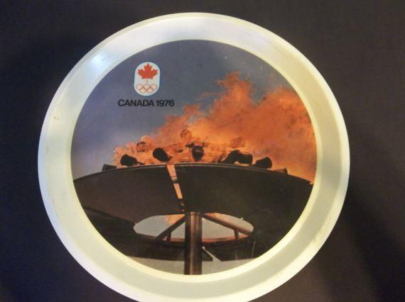Plateau de Souvenir pour le Jeux olympiques 1976 Montréal