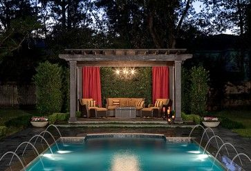 Traditional Pool and Landscaping - traditional - pool - houston - Exterior Worlds Landscaping & Design