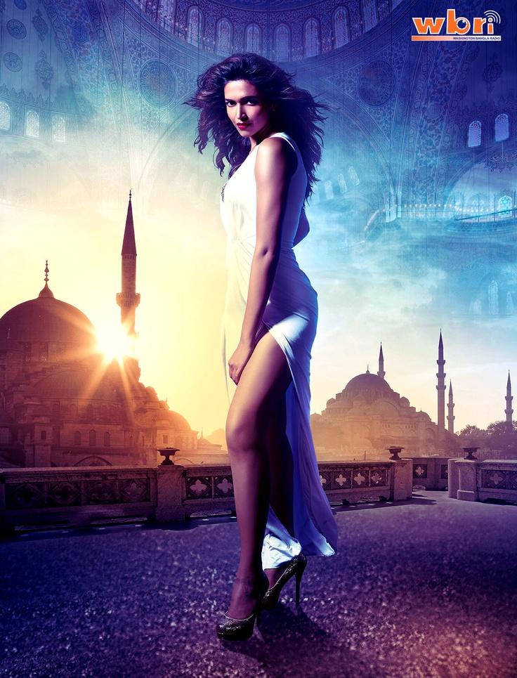 Indian Bollywood Hindi Film Actress Deepika Padukone RACE 2 (2013) Movie Wallpaper Poster Trailer Release