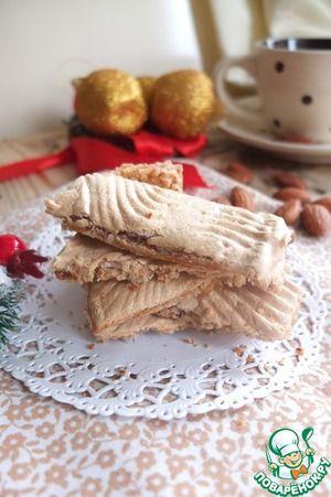 Рецепт: Миндальное печенье без муки и масла