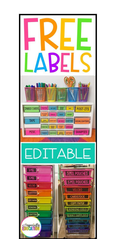 Free Editable Labels – #Editable #FREE #Labels #te…
