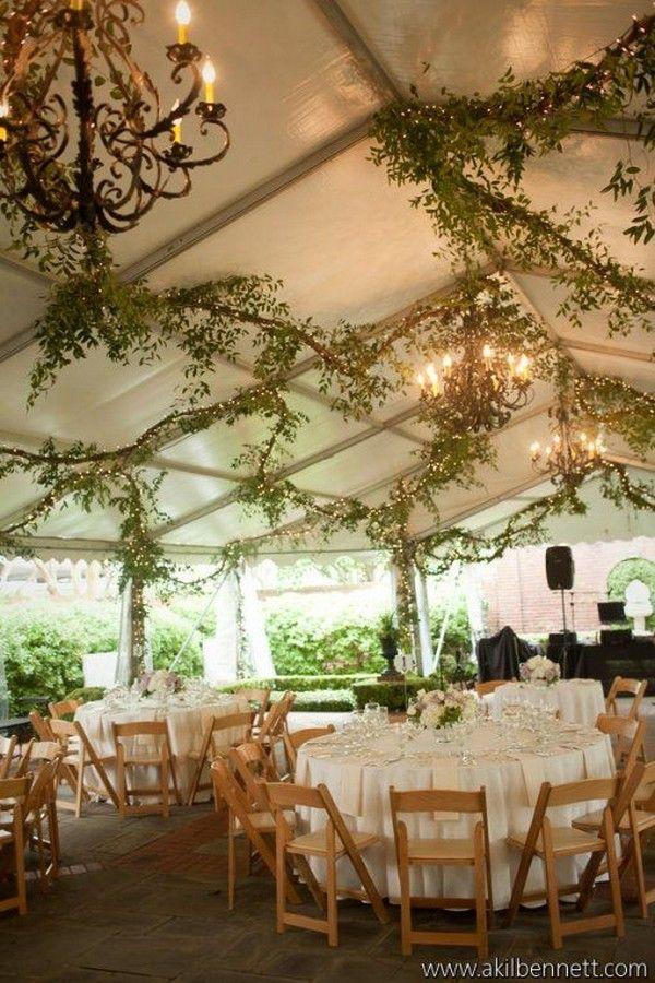 rustic tented wedding reception decor / http://www.deerpearlflowers.com/wedding-tent-decoration-ideas/2/