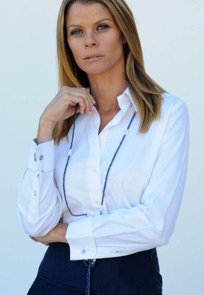 Womens White Dress Shirt French Cuffs